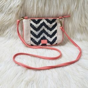 Fossil Zebra Stripe Crossbody Bag